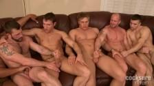 Orgie sexe à voir dans cette vidéo gay